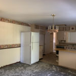 Kitchen area in Tryban Road, Cheboygan MI house for sale