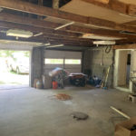 Garage in house for sale near Mullet Lake