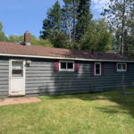 Rear of house for sale near Mullet Lake